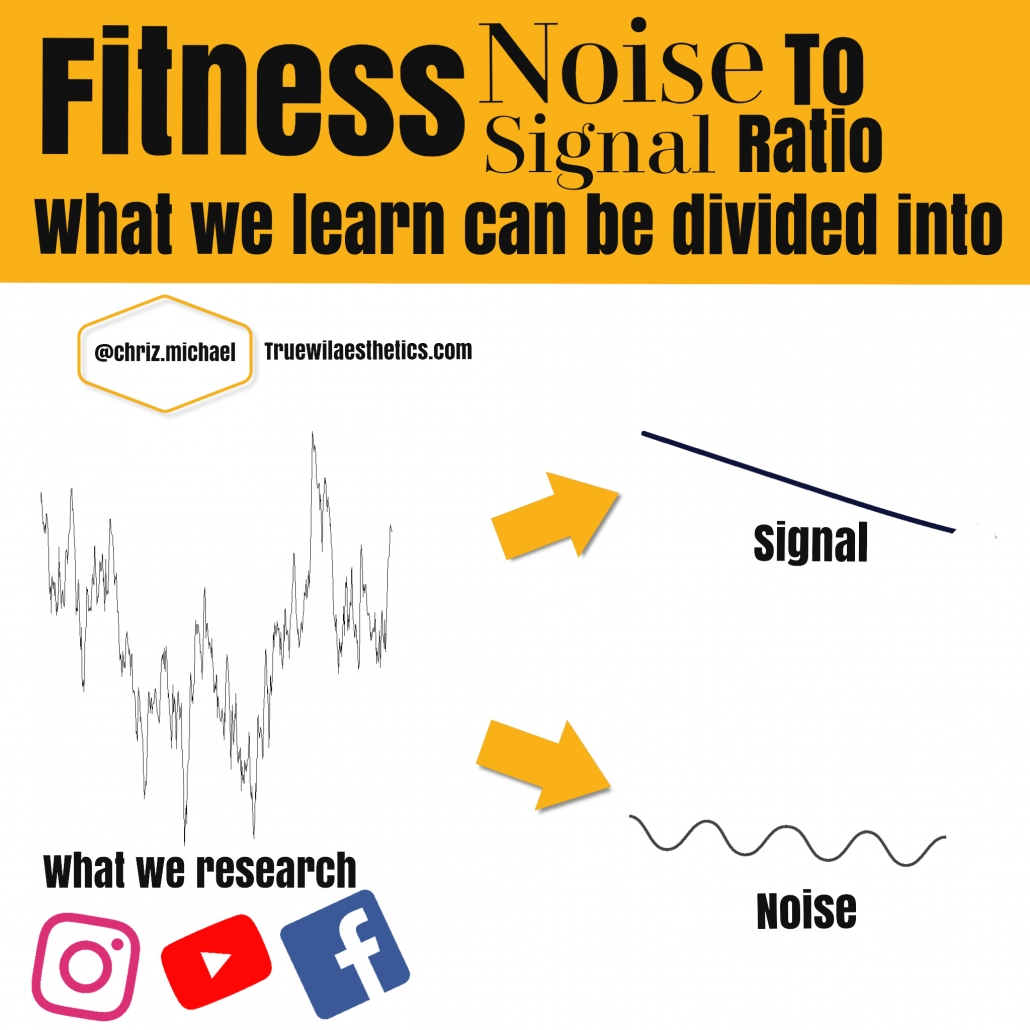 noise to signal ratio true will